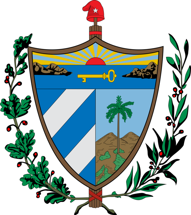 Tower clipart coat arm. Of arms cuba finland