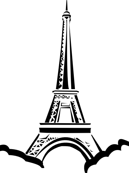 eiffel tower vector png