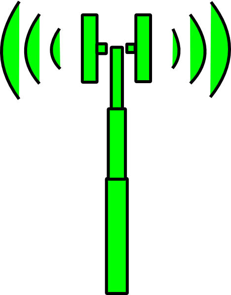 Tower clipart green. Wifi clip art at