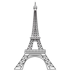 Tower clipart meaning. X eiffel jpg