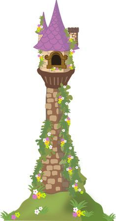 Tower clipart tangled tower. Castle google search diy