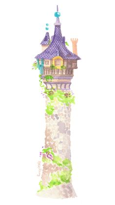Tower clipart tangled tower. Castle google search stickers