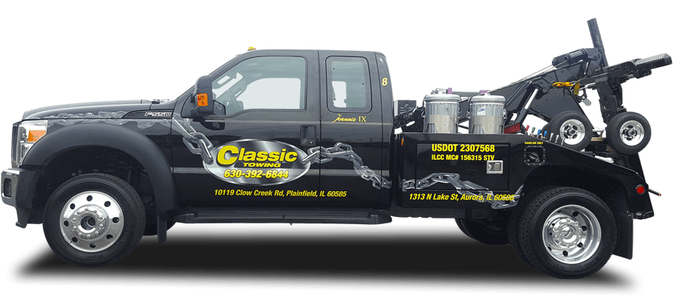 Towing truck png. Classic plainfield tow company