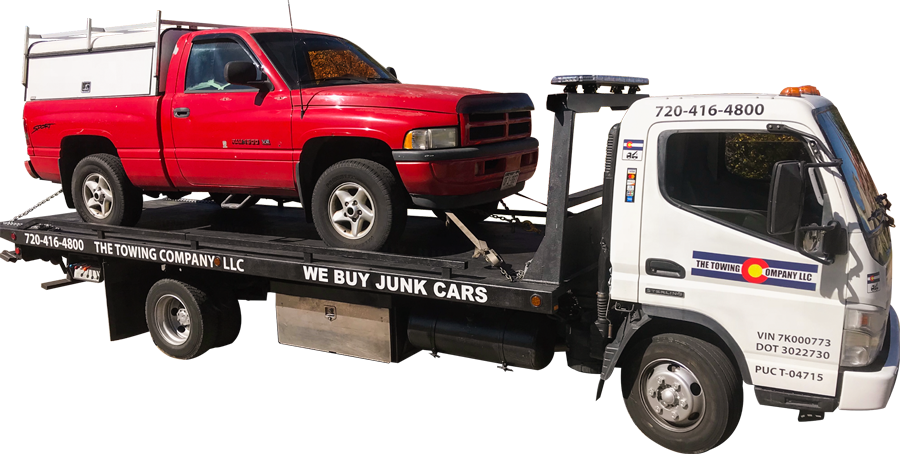 Towing truck png. The company services aurora