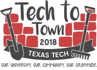 Town clipart kind community. Texas tech on twitter