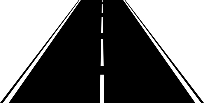 Prespective drawing highway. Shield malaysian expressway system