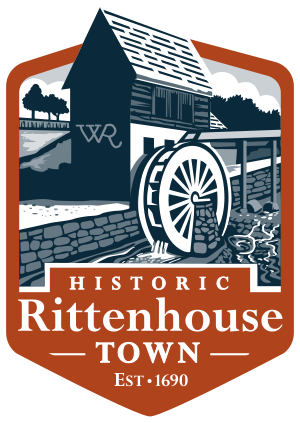 Town clipart town shop. Products historic rittenhouse donate