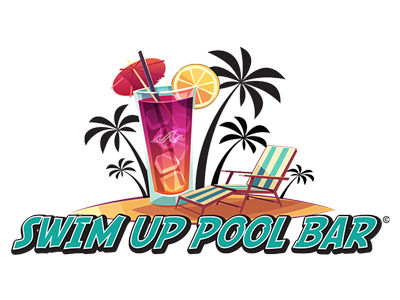 Town clipart waterfront. Swim up pool bar