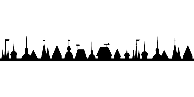 Town silhouette png. Free icons and backgrounds