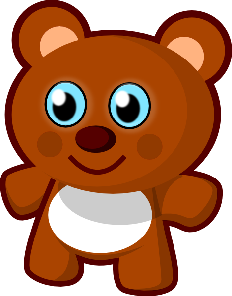 Little bear clip art. Toy clipart banner transparent