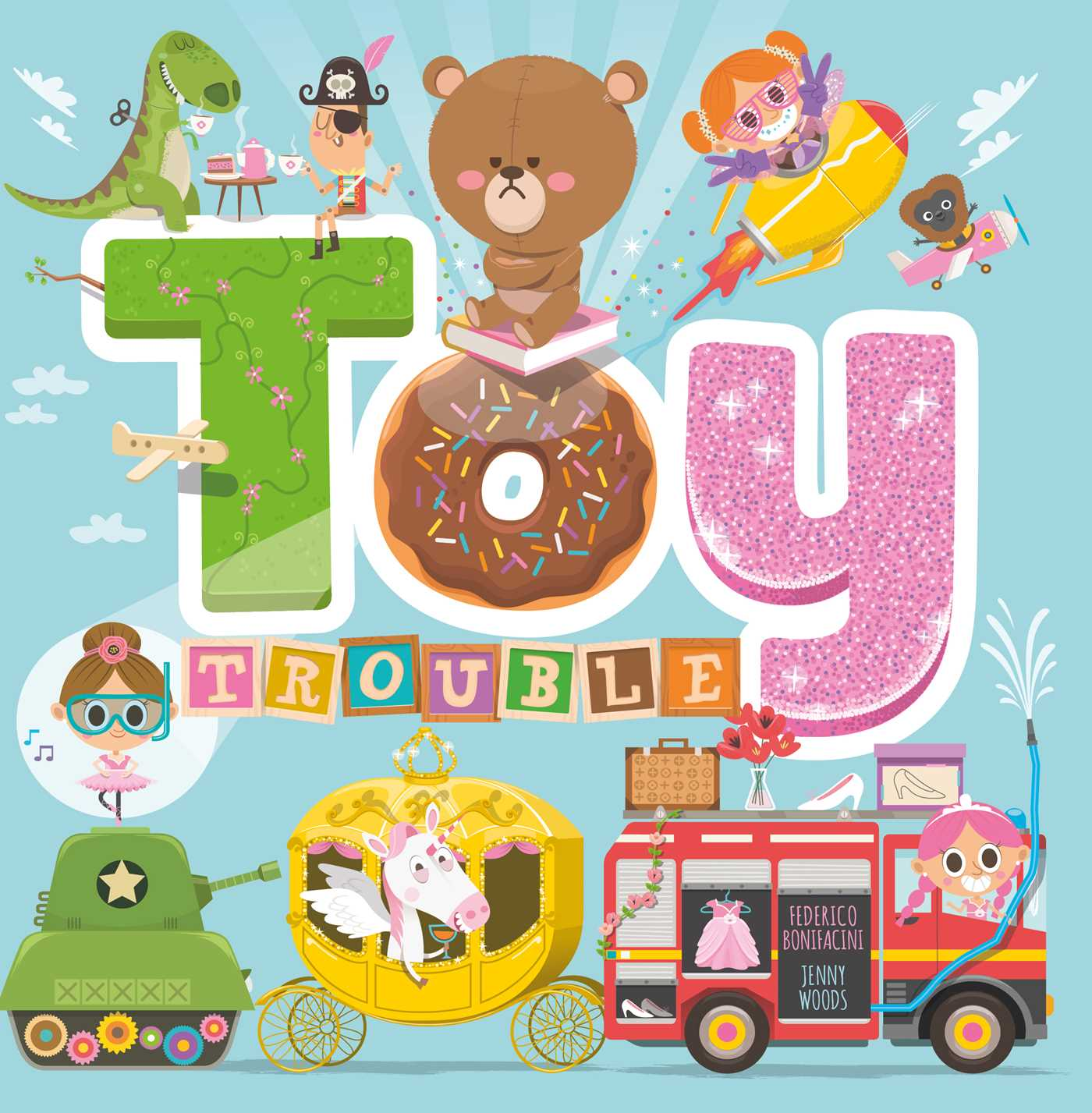 Toy clipart toy book. Trouble by igloobooks official