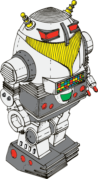 Toy robot clipart png. Clip art at clker