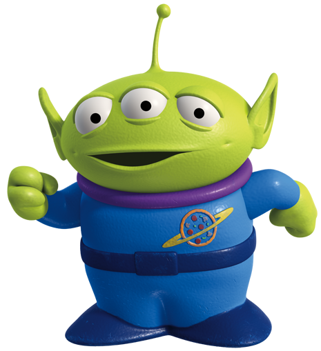 Toy story alien png. Marcianito fiestas infantiles tips