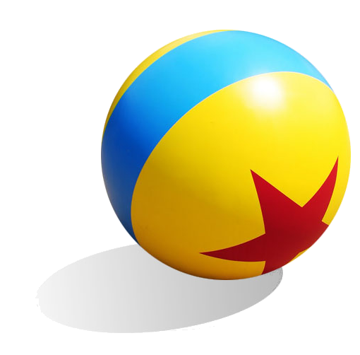 Toy story ball png. Luxo jr pixar animated