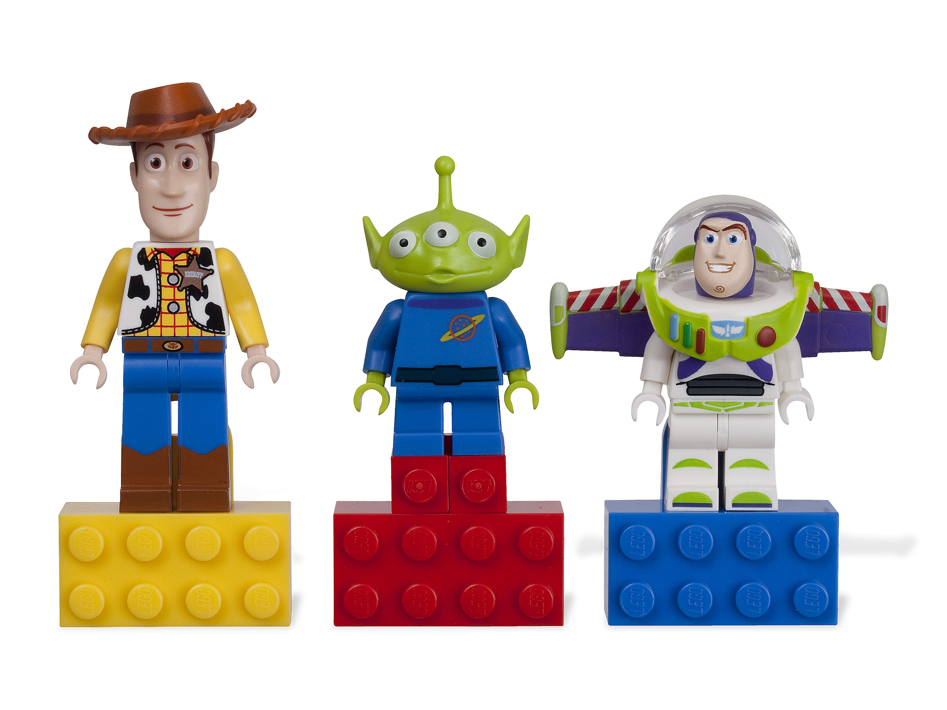 Toy story buzz and woody png. Magnet set brickipedia
