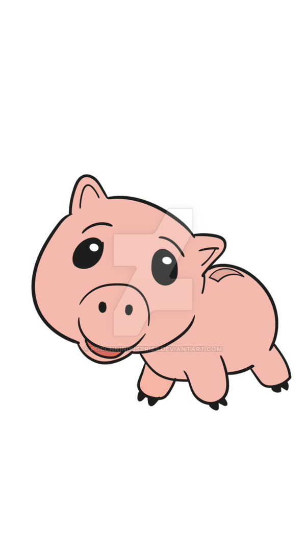 Toy story ham png. Hamm for print by