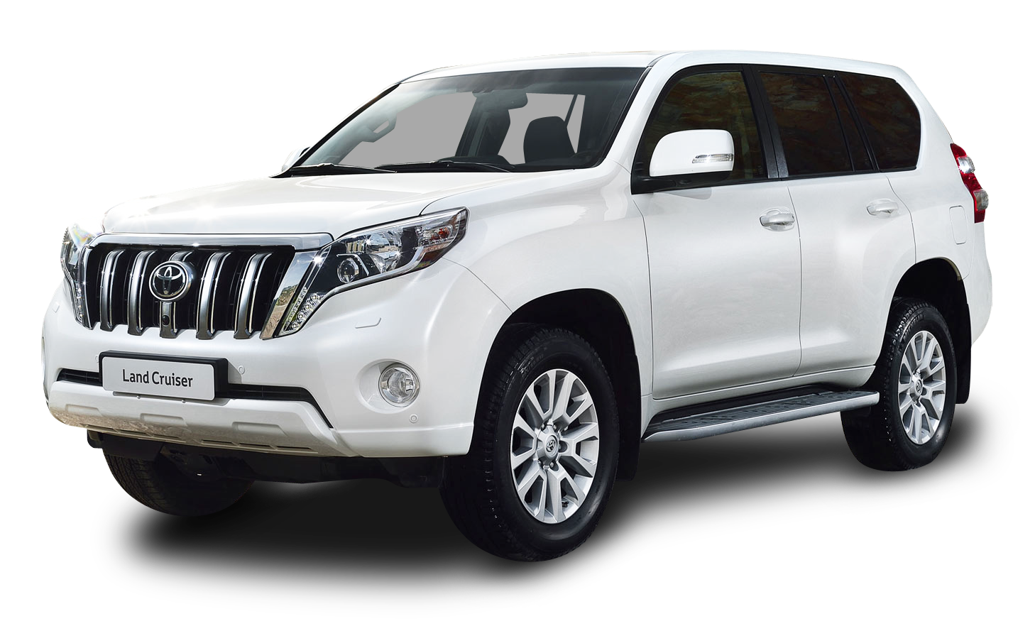 Toyota cars png. Land cruiser white car