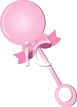 Toys clipart baby toy. Girl kidz area pink