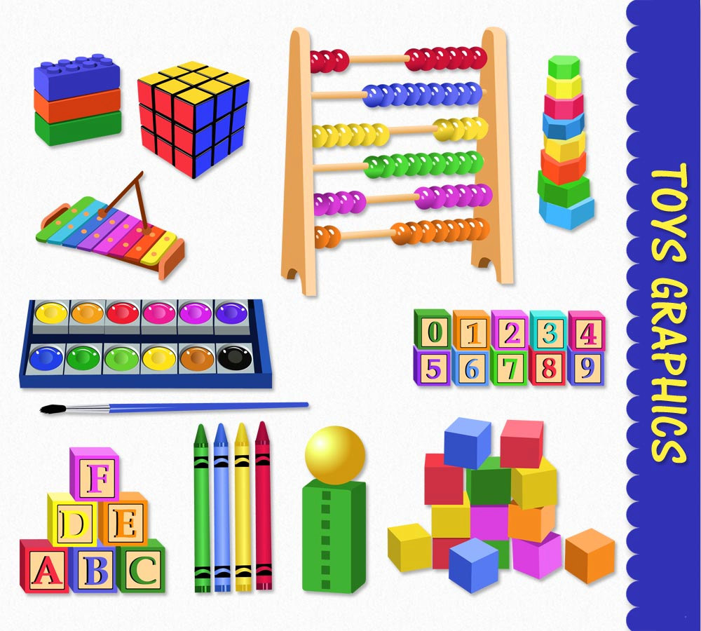 Toys clipart gift. Clip art graphics kids