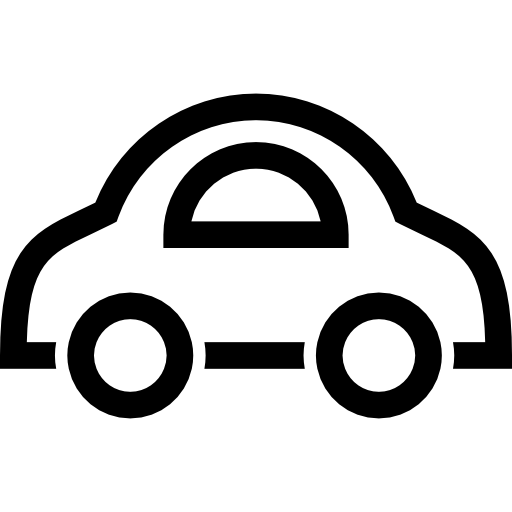 Toys vector different kind. Toy car outline icons