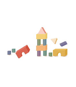 Block vector toy. Free building png psd