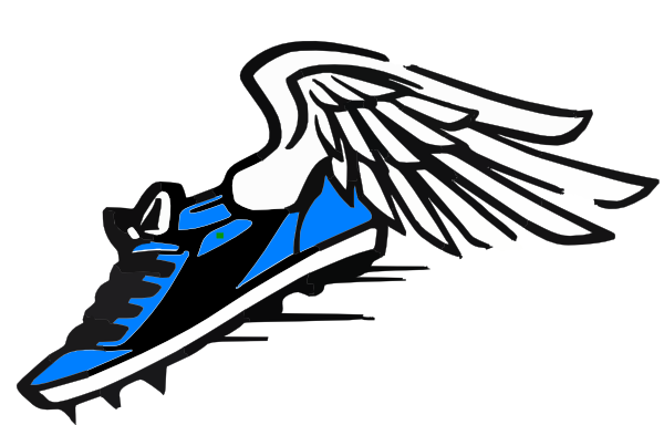 Track and field shoe wings png. Views pinterest running