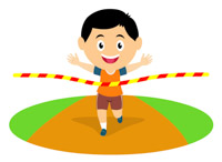 Track clipart. Sports free and field