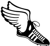 Female runner clip art. Track clipart track cleat clip free