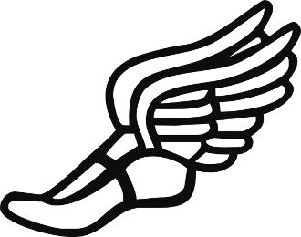 Track clipart track cleat. Shoe drawing at getdrawings