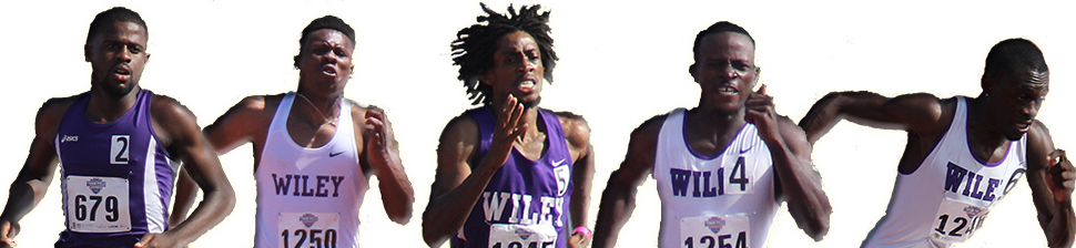 Track relay runner png. Wiley college wildcats win