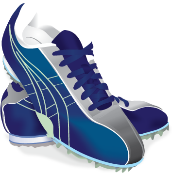 Track shoe png. Links picture of shoes
