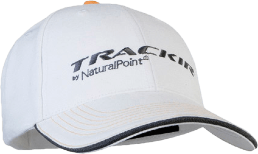 Trackhat clip trackir. Accessories hat white product