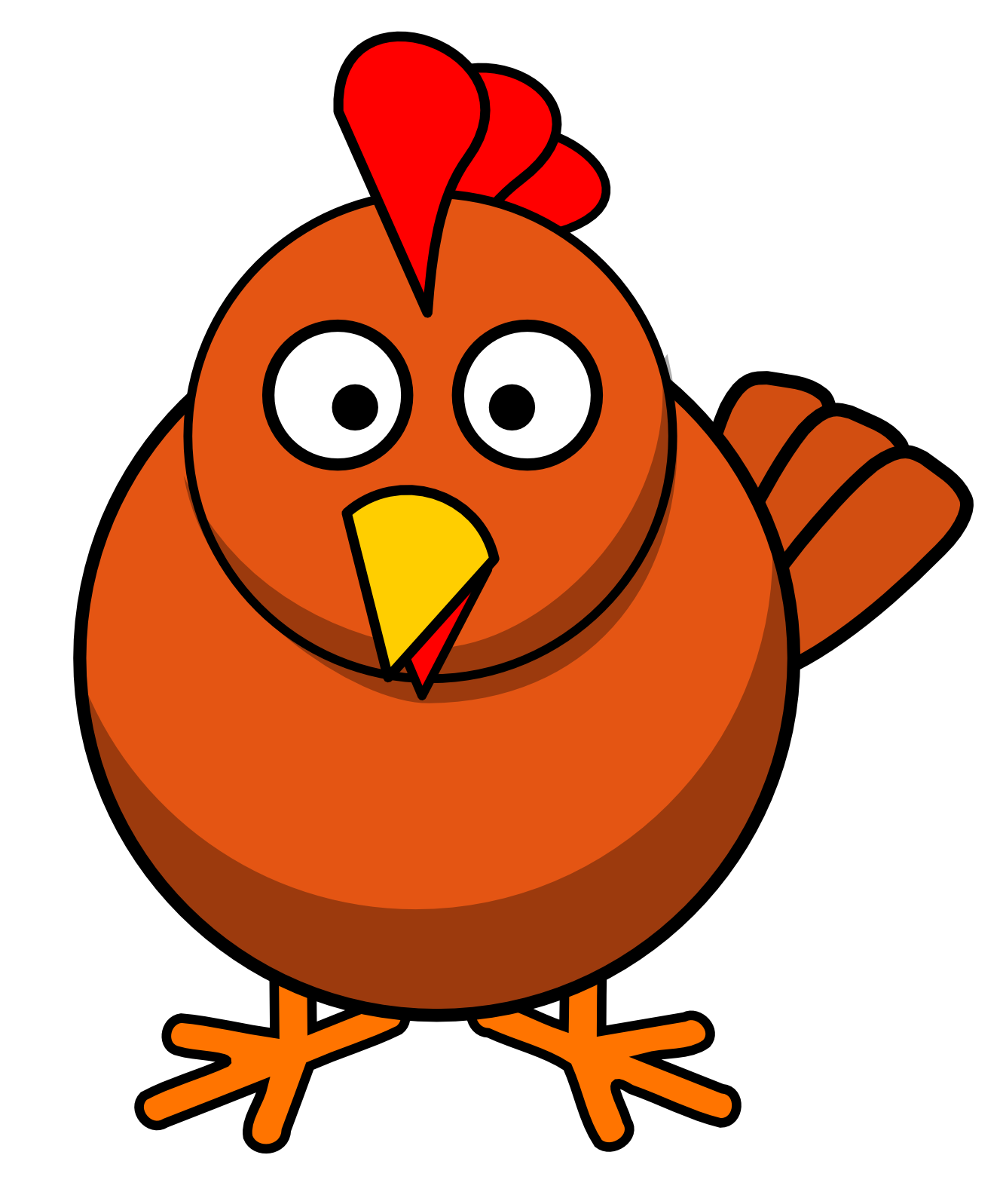 Baby chicken panda free. Cute clipart hen banner library stock
