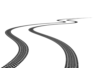 Tire track png. Car tracks clipart images