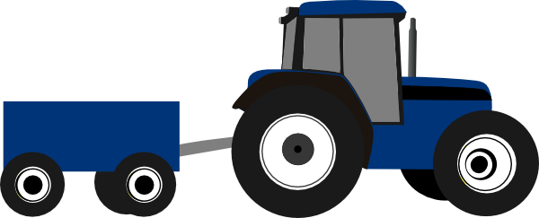 Drawing tractors trailer. Free tractor images cartoon