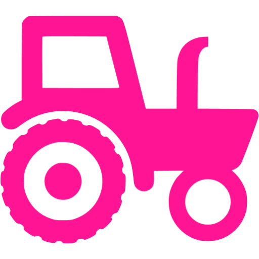 Tractor clipart pink tractor. Deep icon free icons