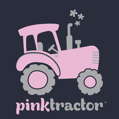 Tractor clipart pink tractor. Infant toddler kids adult