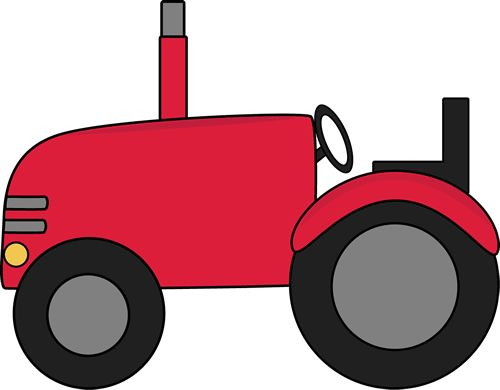 tractor clipart pink tractor
