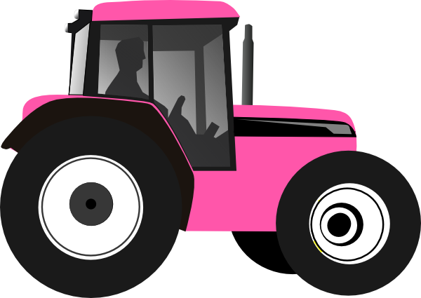 backhoe vector cartoon