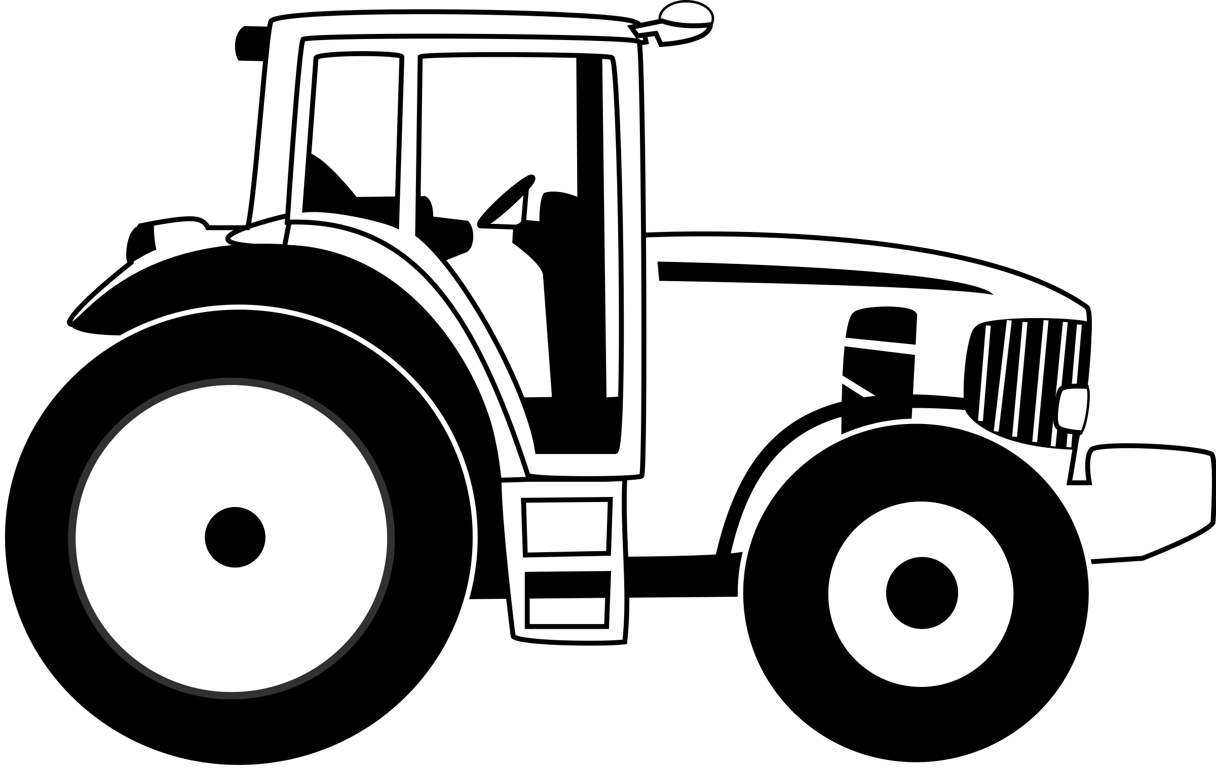 Free black and white. Drawing tractors big tractor banner royalty free download
