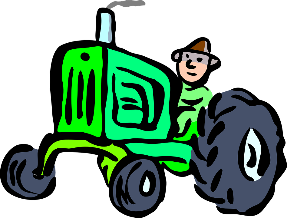 Tractor clipart tactor. Farm shop of library