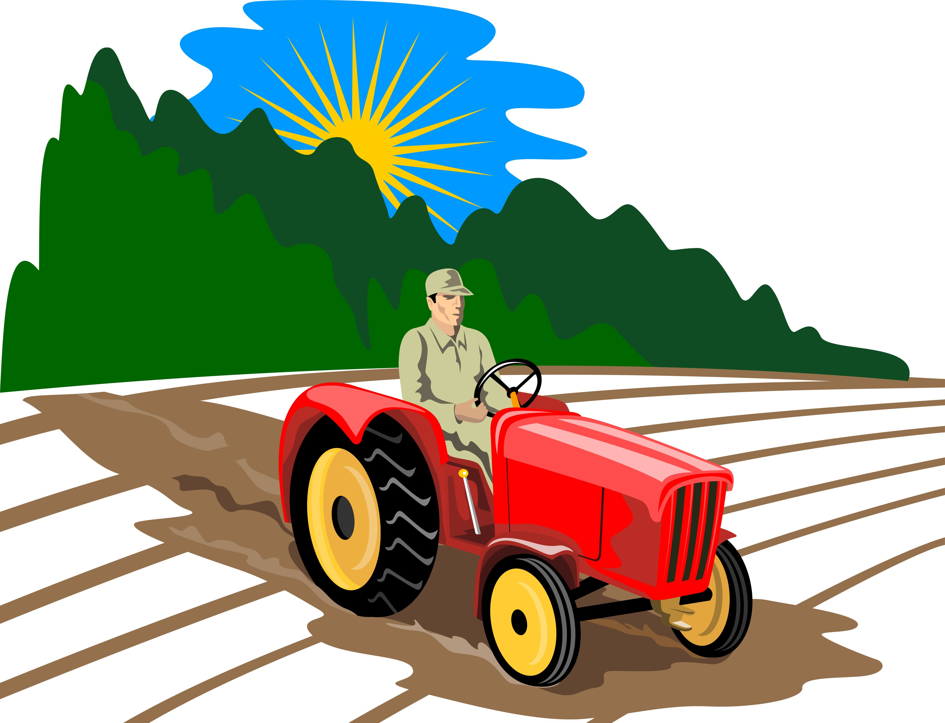 Tractor clipart tactor. Hd free images cartoon