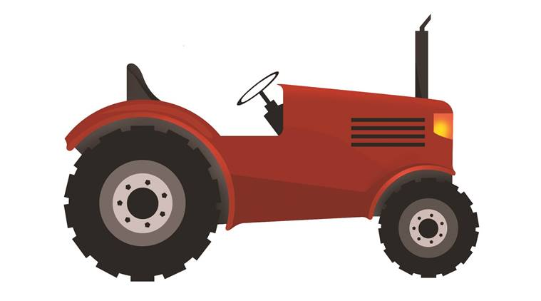 Tractor clipart tractor indian. Gst please tax us