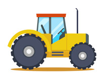 Tractor clipart word. For kids at getdrawings