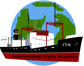 Trade clipart clip art. International boat and earth