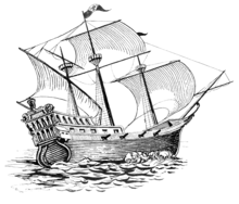 Trade clipart galleon. Galeon wiktionary