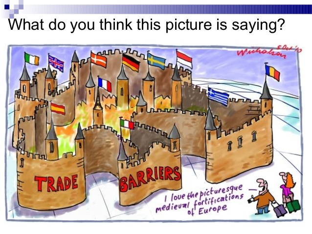 Trade clipart tariff. Barriers ppt what do