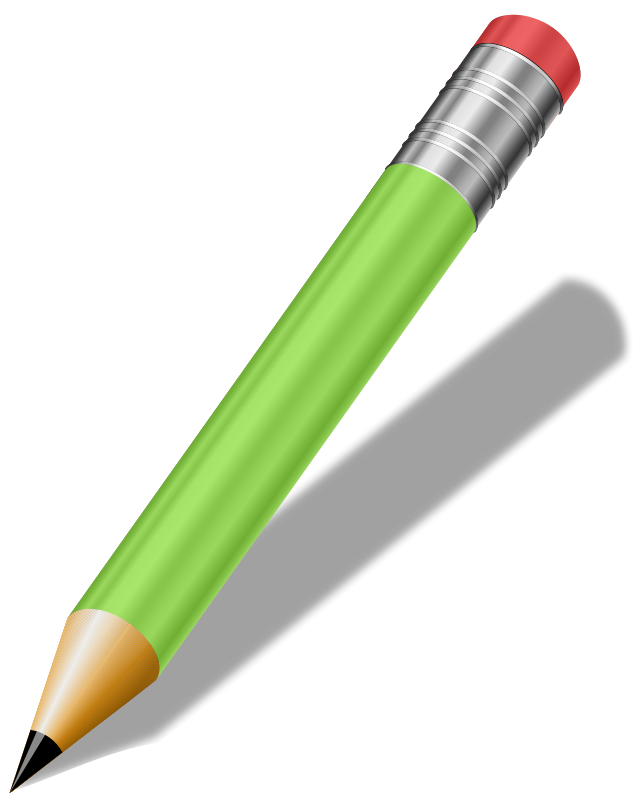 Trade drawing pencil. Picture of a