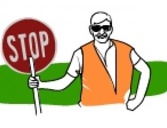 Traffic clipart traffic management. Construction waste and disposal