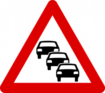 Traffic clipart traffic management. Report reveals highway congestion